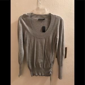 The Limited silver sparkle sweater